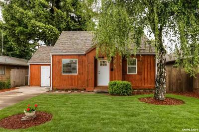 Salem Single Family Home Active Under Contract: 1375 2nd St