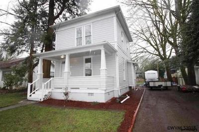 Salem Single Family Home For Sale: 1334 Marion St