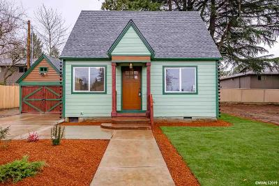 Keizer Single Family Home Active Under Contract: 770 Cade Av