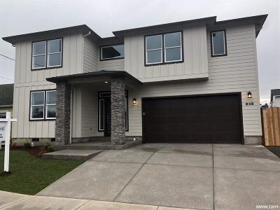 Keizer Single Family Home For Sale: Claggett (Lot #1) St
