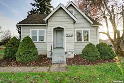 Salem Single Family Home For Sale: 4250 Silverton Rd