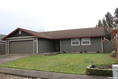Stayton Single Family Home Active Under Contract: 1474 Kristan Ct