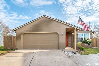 Keizer Single Family Home Active Under Contract: 989 Sagrada Cl