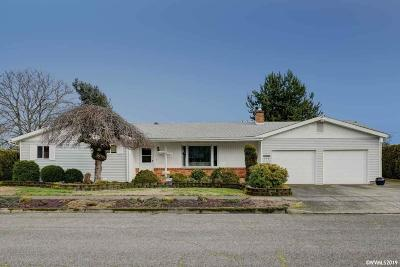 Stayton Single Family Home Active Under Contract: 492 N Larch Av