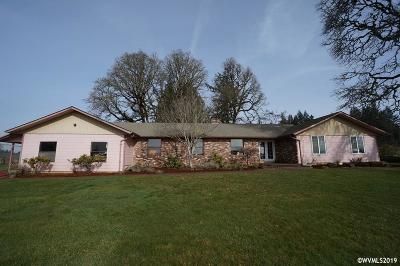 Aumsville Single Family Home For Sale: 9777 Gordon Ln