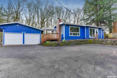 Salem Single Family Home For Sale: 2832 Strong Rd