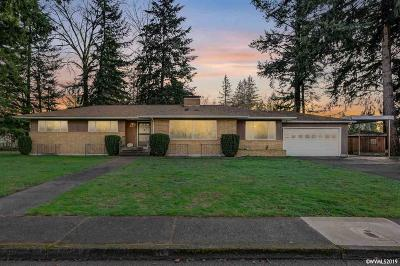 Stayton Single Family Home Active Under Contract: 480 N Evergreen Av