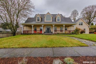 Stayton Single Family Home For Sale: 653 E Pine St