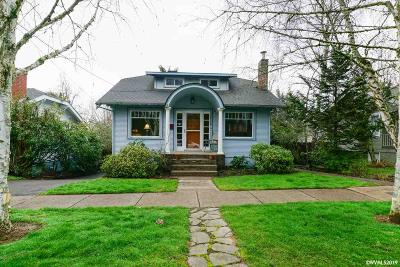 Salem Single Family Home For Sale: 2156 Church St