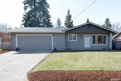 Keizer Single Family Home Active Under Contract: 4217 Brooks Av