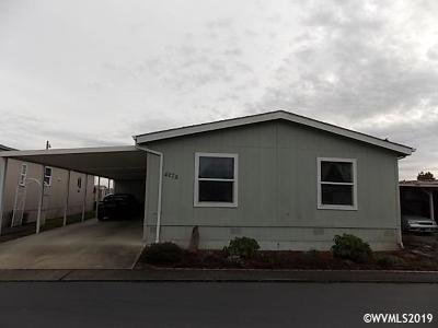 Salem Manufactured Home For Sale: 4272 Lemon St #4272