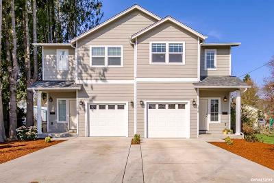 Albany Multi Family Home For Sale: 1417 Santiam (- 1419) Rd