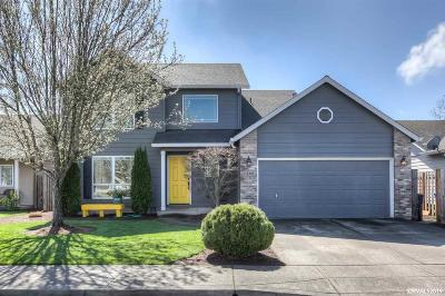 Keizer Single Family Home Active Under Contract: 1296 Trent Av