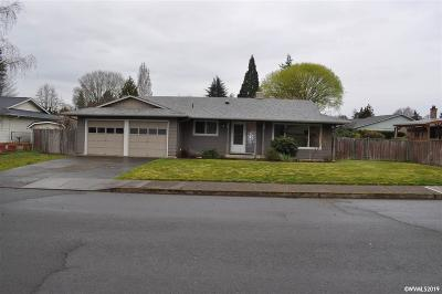 Keizer Single Family Home Active Under Contract: 5408 Kayak Wy
