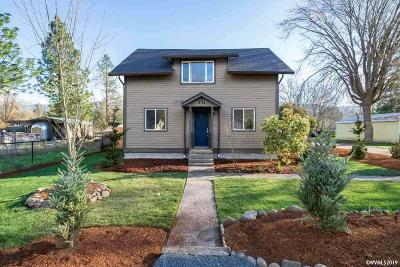 Mill City Single Family Home For Sale: 418 NE Alder St