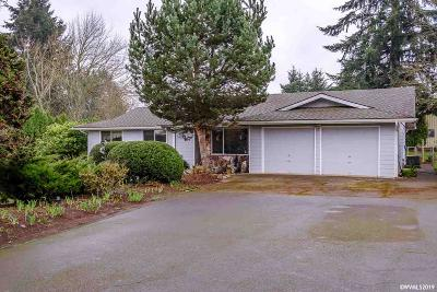 Aumsville Single Family Home Active Right Of Refusal: 7775 Aumsville Hwy