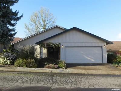 Salem Single Family Home Active Under Contract: 2025 Banyan Ct