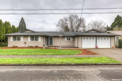 Keizer Single Family Home Active Under Contract: 248 Garland Wy