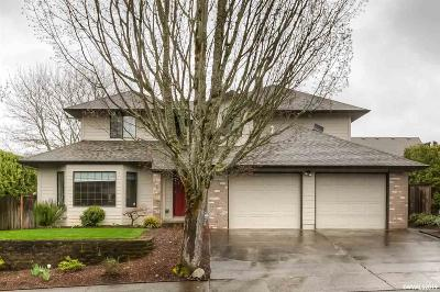 Salem Single Family Home Active Right Of Refusal: 5301 Woodscape Dr