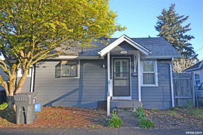 Salem Single Family Home For Sale: 1018 7th St