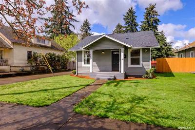 Salem Single Family Home For Sale: 345 15th St