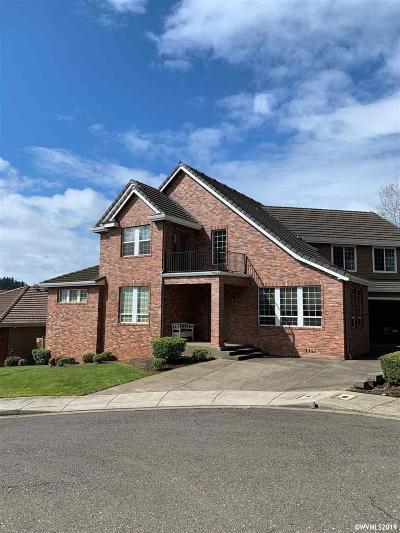 Salem Single Family Home For Sale: 2939 Mapleleaf Ct