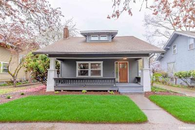 Salem Single Family Home For Sale: 196 24th St