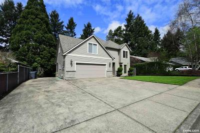 Salem Single Family Home For Sale: 5339 Sparta Lp