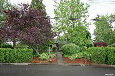 Salem Single Family Home For Sale: 3291 Bluff Av