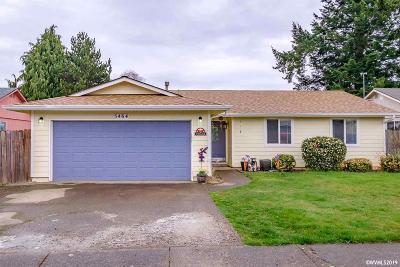 Salem Single Family Home For Sale: 5464 Rock Creek Ct