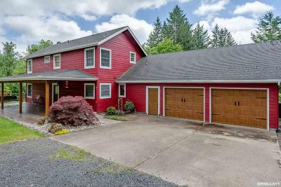 Sweet Home Single Family Home For Sale: 27481 Riggs Hill Rd