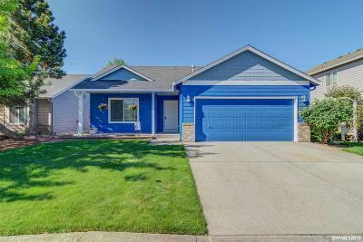 Keizer Single Family Home Active Under Contract: 1467 Trent Av