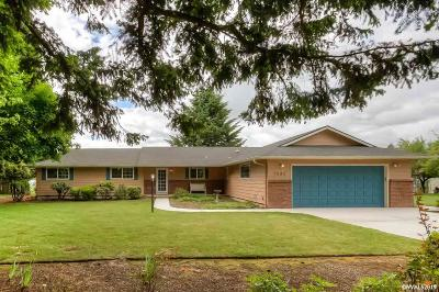 Salem Single Family Home For Sale: 7682 Macleay Rd
