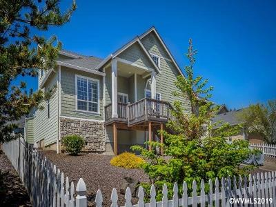Lincoln City Single Family Home Active Right Of Refusal: 5779 NE Voyage Wy