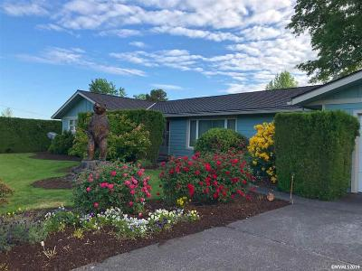Salem Single Family Home Active Under Contract: 5999 Culver Dr