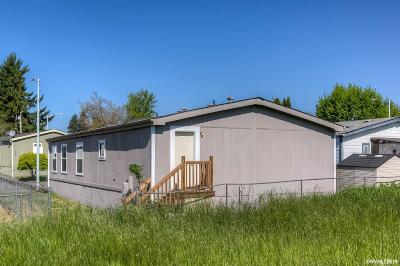 Keizer Manufactured Home For Sale: 4786 Tracy St #88