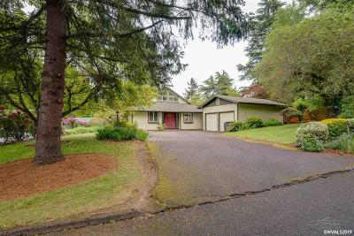 Salem Single Family Home For Sale: 3840 Stanley Ln