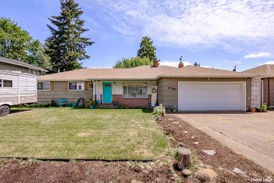 Salem Single Family Home Active Under Contract: 4780 Fir Dell Dr
