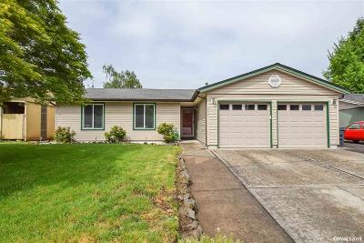 Keizer Single Family Home Active Under Contract: 4957 Trade Wind Av