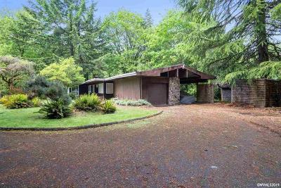 Salem Single Family Home For Sale: 3880 Croisan Creek Rd