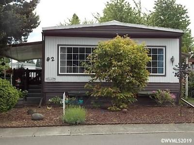 Keizer Manufactured Home For Sale: 5355 River Rd #92