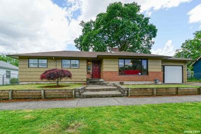 Salem Single Family Home For Sale: 1760 B St
