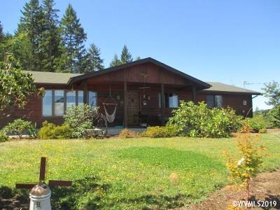 Lebanon Single Family Home For Sale: 32555 Mt. Pleasant Rd