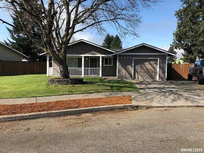 Stayton Single Family Home For Sale: 1725 Wilmington Pl