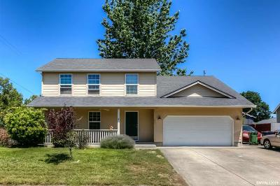 Stayton Single Family Home Active Under Contract: 1037 Western Ct