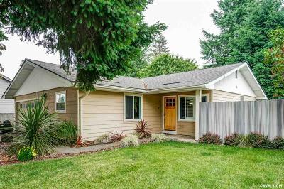 Keizer Single Family Home Active Under Contract: 4886 Crater Av