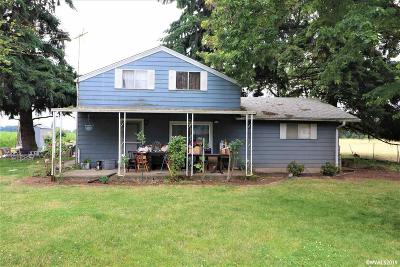 Aumsville Single Family Home For Sale: 8074 Mill Creek Rd