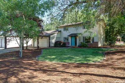 Salem Single Family Home For Sale: 8198 Jordan St