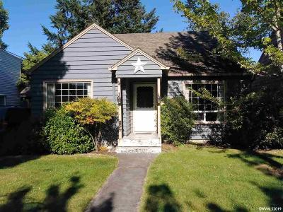 Salem Single Family Home For Sale: 1750 Yew St