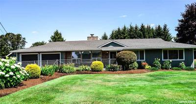 Stayton Single Family Home Active Under Contract: 41765 Kingston Jordan Rd
